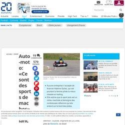 Auto-moto: «Ce sont des sports de machos», lance une femme qui galère à trouver des sponsors