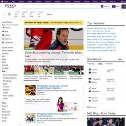 NHL on Yahoo! Sports - News, Scores, Standings, Rumors, Fantasy