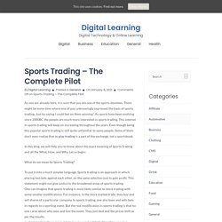 In-Play Trading By Betfair Trading Community