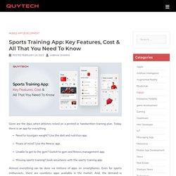 Sports Training App Development