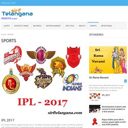 sports news,latest sports news, latest updates on sports, live sports news – sirftelangana
