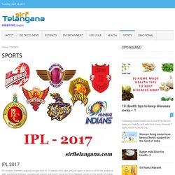 Title: Live Sports News – Sirftelangana
