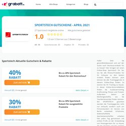 Sportstech Gutschein - 50% Rabatt + Gutscheincode - Juni 2020