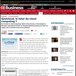 Spotcloud, le futur du cloud computing ?
