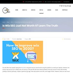 Is Wix SEO Just Not Worth It? Learn The Truth
