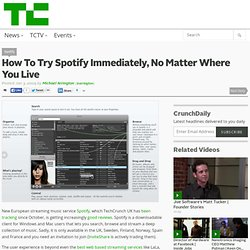 How To Try Spotify Immediately, No Matter Where You Live