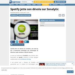 Spotify jette son dévolu sur Sonalytic