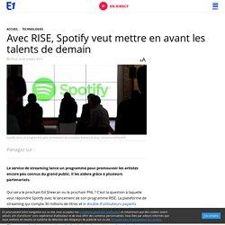 Avec RISE, Spotify veut mettre en avant les talents de demain