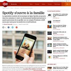 Spotify s'ouvre à la famille