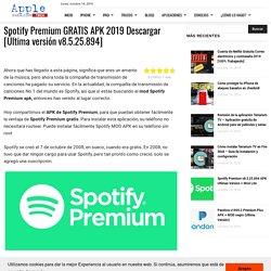 □ ▷ Spotify Premium GRATIS APK 2019 Descargar [Última versión v8.5.25.894] ✅