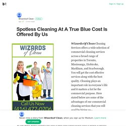 Spotless Cleaning At A True Blue Cost Is Offered By Us