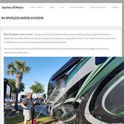 Buy Spotless Deionized Water System Online