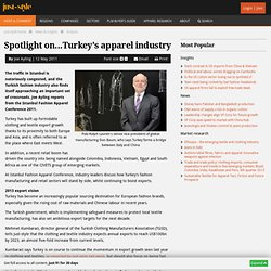 Spotlight on...Turkey's apparel industry