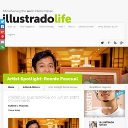 Artist Spotlight: Ronnie Pascual - Illustrado Magazine - Filipino Abroad