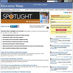 Spotlight on E-Learning