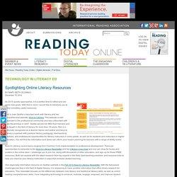 Spotlighting Online Literacy Resources