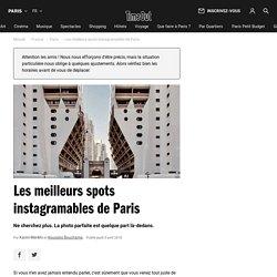 Les meilleurs spots instagramables de Paris