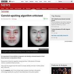 Convict-spotting algorithm criticised