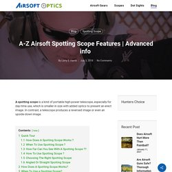 A-Z Airsoft Spotting Scope Features