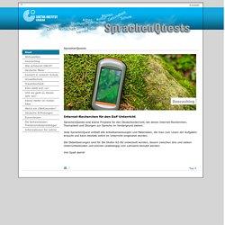 SprachenQuests – Internet-Recherchen für den DaF-Unterricht-Goethe-Institut