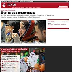 Sprachtests für Ausländer: Ärger für die Bundesregierung