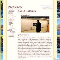 Språk och språkhistoria - PAGY-SVE3