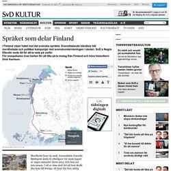 Språket som delar Finland