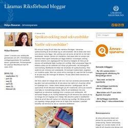 Språkutveckling med sekvensbilder - Hülya Basaran