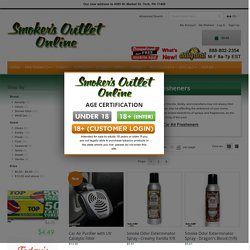 Sprays and Air Fresheners at Smoker's Outlet Online