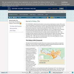 Spread of Islam, The - Oxford Islamic Studies Online