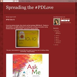 Spreading the #PDLove: #PB10for10