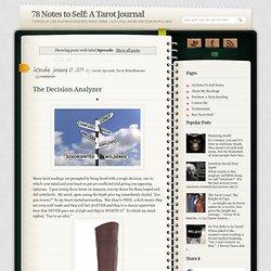 A Tarot Journal: Spreads