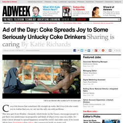 Ad of the Day: Coke Spreads Joy to Some Seriously Unlucky Coke Drinkers