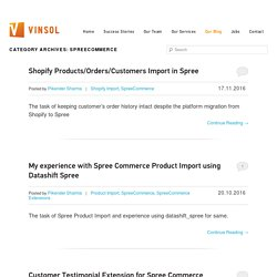 SpreeCommerce Blog
