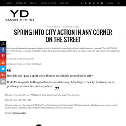 Spring into City Action in Any Corner on the Street