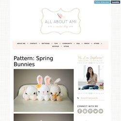 Pattern: Spring Bunnies