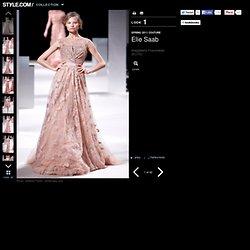Elie Saab Slideshow on Style.com