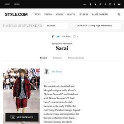 Sacai Spring 2016 Menswear Fashion Show: Runway Review - Style.com