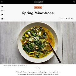 Spring Minestrone Recipe