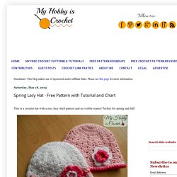 Spring Lacy Hat - Free Pattern with Tutorial and Chart