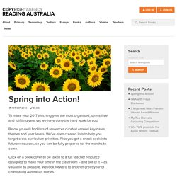 Spring into Action! - Reading Australia