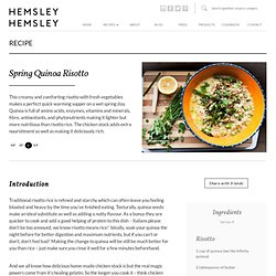 HEMSLEY + HEMSLEY - healthy food and living
