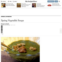 Spring Vegetable Soups