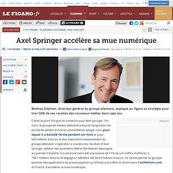 Médias & Publicité : Axel Springer accélère sa mue numérique