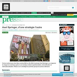 Axel Springer, d'une stratégie l'autre