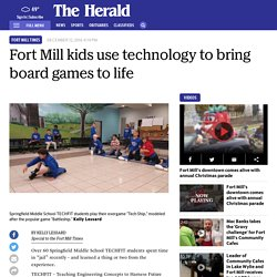 Springfield Middle School kids learn to be 'TechFit'