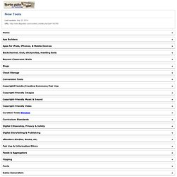 New Tools - Springfield Township H.S. Virtual Library - Spartan Guides for Mobile