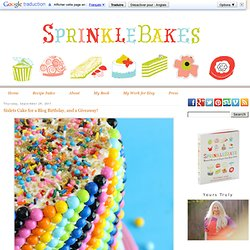 Sixlets Cake for a Blog Birthday, and a Giveaway! - StumbleUpon