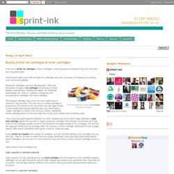 Buying printer ink cartridges & toner cartridges