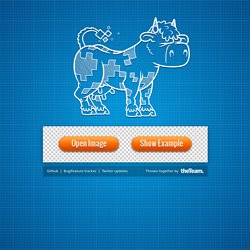 Sprite Cow - Generate CSS for sprite sheets